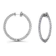 3 ct. t.w. Diamond Hoop Earrings (G-H,SI2-I1)