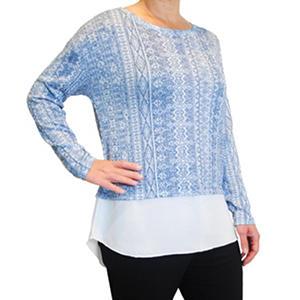 Kiara Two-fer Top (Assorted Colors)