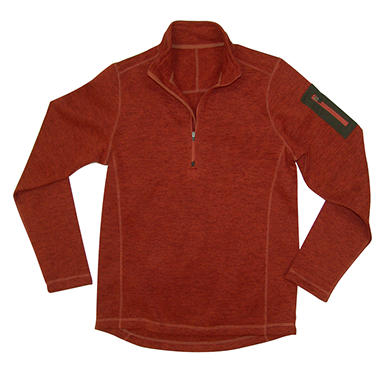 1/4 Zip Fleece Sweater - Various Colors