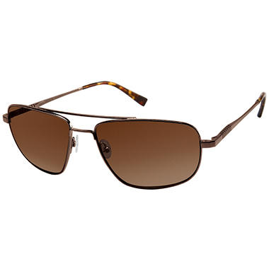 NetJets Romeo Sunglasses - Brown
