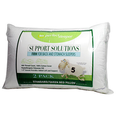 Serta Perfect Sleeper Support Solutions Pillow - 2 pk.
