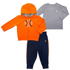 Boys' 3-Piece Toddler Active Set
