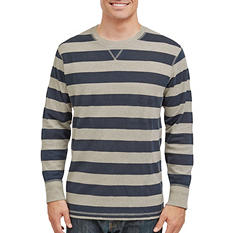 Eddie Bauer Men's Thermal Crew Tee (Assorted Colors)