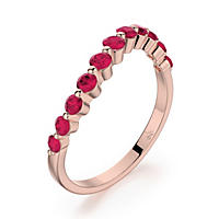 .76 CT. T.W. Tango Ruby Ring in 14K Rose Gold