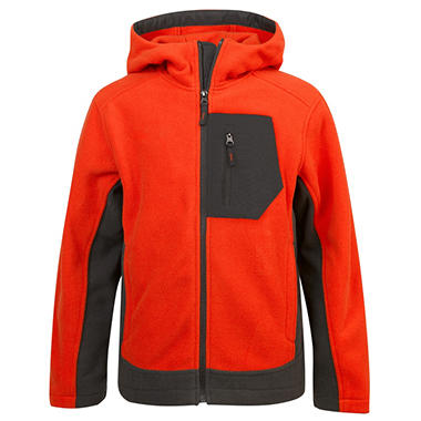 Boys Fleece Jacket (Assorted Colors)