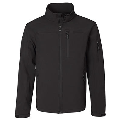 Men's Active Soft Shell Jacket, Various Colors