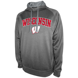Wisconsin Badgers Men's Pullover Hood Fleece