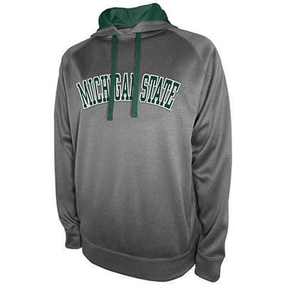 Michigan State Spartans Men's Pullover Hood Fleece