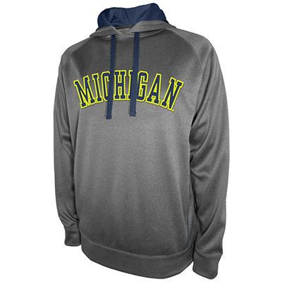Michigan Wolverines Men's Pullover Hood Fleece