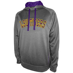 LSU Tigers Men's Pullover Hood Fleece