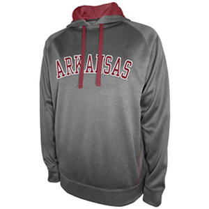 Arkansas Razorbacks Men's Pullover Hooded Fleece