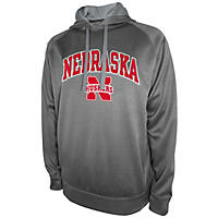Nebraska Cornhuskers Men's Pullover Hooded Fleece