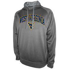 West Virginia Mountaineers Men's Pullover Hood Fleece