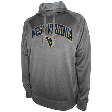 West Virginia Mountaineers Men's Pullover Hood Fleece