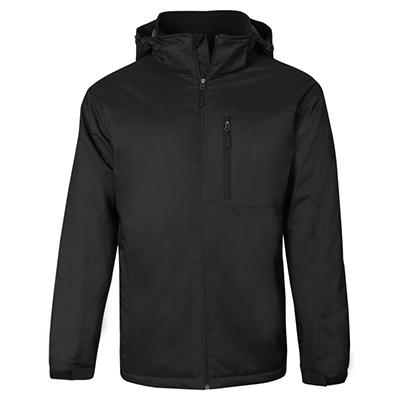 Men's Mid-Weight Hooded Jacket, Various Colors