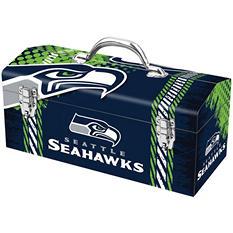 """Seattle Seahawks 16"""" Toolbox"""