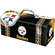 """Pittsburgh Steelers 16"""" Toolbox"""