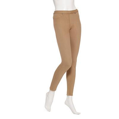 June & Daisy Women's Classic Tan Denim Leggings