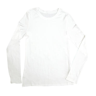 Women's Long Sleeve Crew Neck T-Shirt (Assorted Colors)