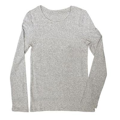 Women's Long Sleeve Crew Neck T-Shirt (Assorted Colors)
