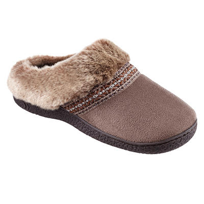 Isotoner Women's Smartzone Gel Comfort Technology Slippers, Assorted Colors