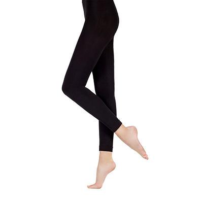 Ellen Tracy Fleece Footless Tights - 2-Pair Pack