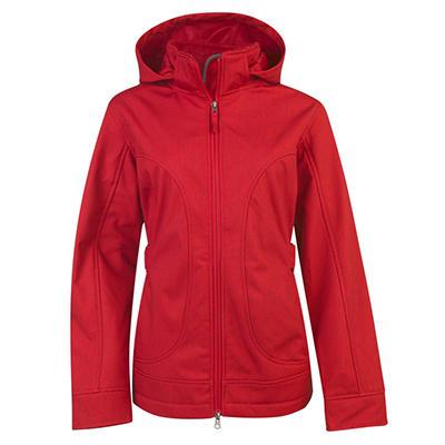 Ladies Hooded Softshell Jacket (Assorted Colors)