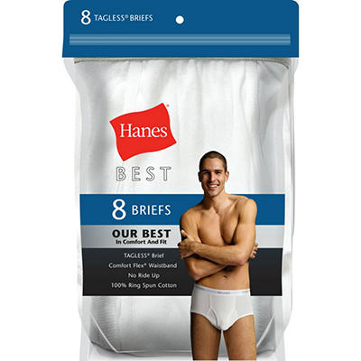 Hanes Best 8-Pack Brief - Assorted Colors