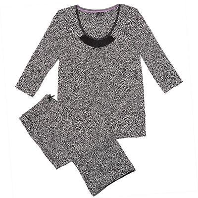 3/4 Sleeve Pajama Sleep Set  (Assorted Colors)