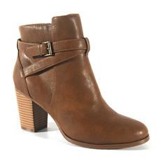 Lana Faux Leather Ankle Boot