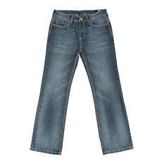 Boy's Designer Brand Vintage Boot Cut Jean