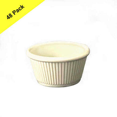Fluted  Ramekin - 2 oz. - 48 pk. - Various Colors