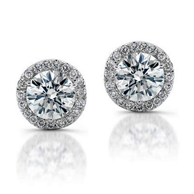 1 ct. t.w. Diamond Earrings (G-H, SI2-I1 )