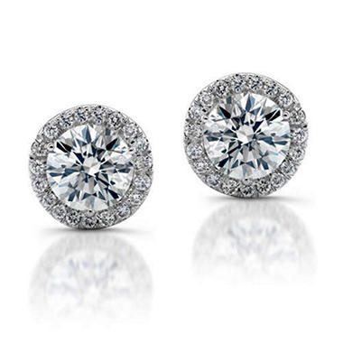 .50 ct. t.w. Diamond Earrings in 14K White Gold