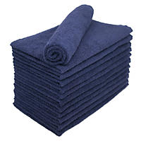 Bleachsafe® Salon Hand Towels - Blue - 24 pk.