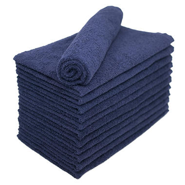 Bleachsafe� Salon Hand Towels - Blue - 24 pk.