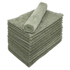 Bleachsafe® Salon Hand Towels - Green - 24 pk.
