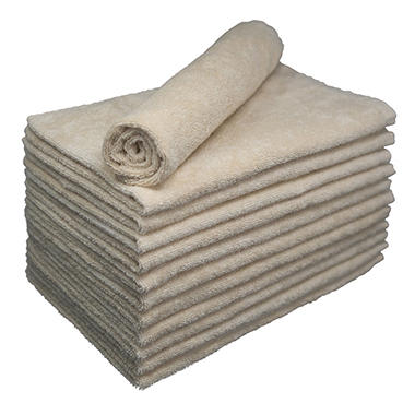 Bleachsafe� Salon Hand Towels - Tan - 24 pk.