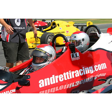 Mario Andretti Racing Experience Ride A Long Package