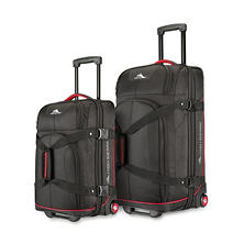 High Sierra 2 Piece Upright Wheeled Duffels