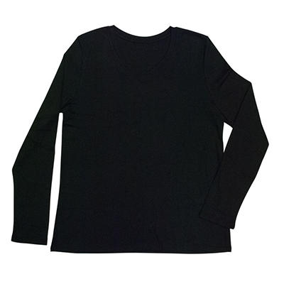 Women's Long Sleeve V-Neck T-Shirt (Assorted Colors)