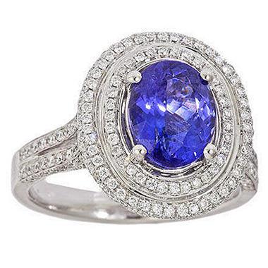 2.30 ct. Tanzanite Ring  (G-H, SI)