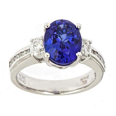 4.22 ct. Tanzanite Ring (G-H, SI)