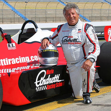Mario Andretti INDY Car Holiday Ride Along Package