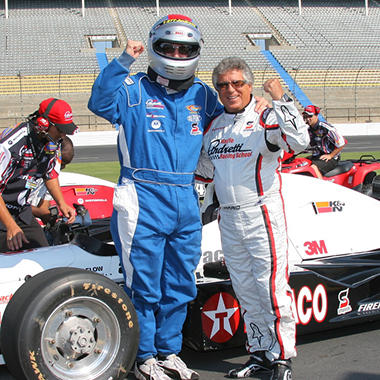 Mario Andretti INDY Car Holiday Drive Package