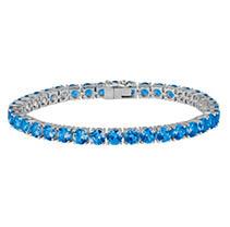 Click here for Tanzanite Bracelet in 14K White Gold prices