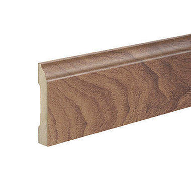 SimpleSolutions™ Wallbase Molding – English Walnut; 94.50""