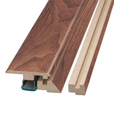 SimpleSolutions? Four-in-One Molding ? English Walnut; 78.75 In. Long