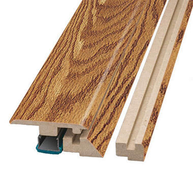 SimpleSolutions™ Four-in-One Molding - Raven Oak; 78.75 In. Long