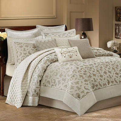 """Pinole"" Luxury 12 Piece Bedding Set - Various Sizes"